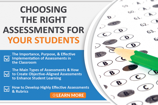Choosing The Right Assessments