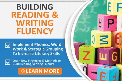 Building Reading Writing Fluency Icon