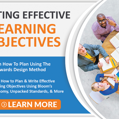 Writing Effective Learning Objectives Course