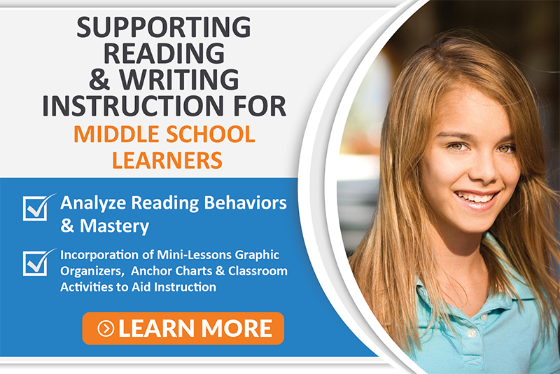 Supporting Reading Writing Instruction-middle school
