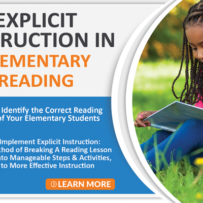 Explicit Instruction in Elementary Reading Course