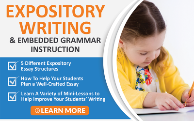 Expository Writing and Embedded Grammar Instruction