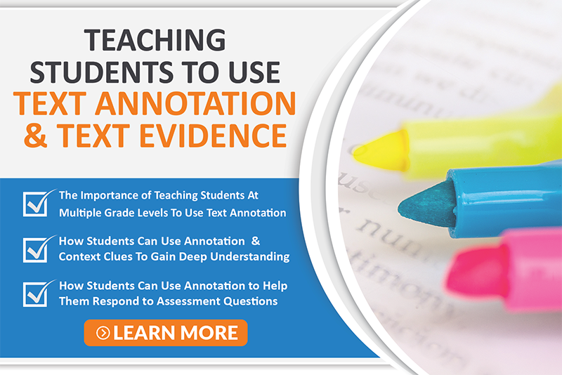 Teaching Text Annotation and Evidence Course