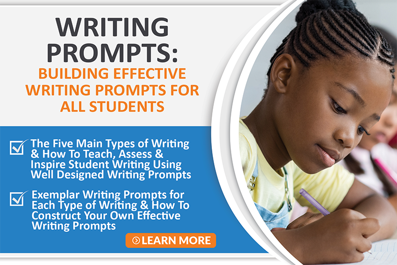 Writing Prompts Professional Development Course