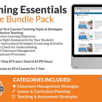 Teaching Essentials Course Bundle Icon-min