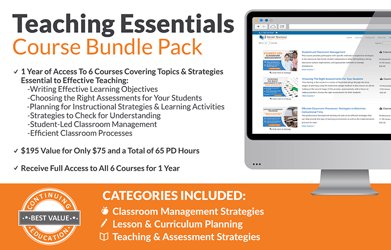 Teaching Essentials Course Bundle Icon-min