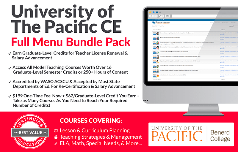 University of the Pacific Bundle Pack