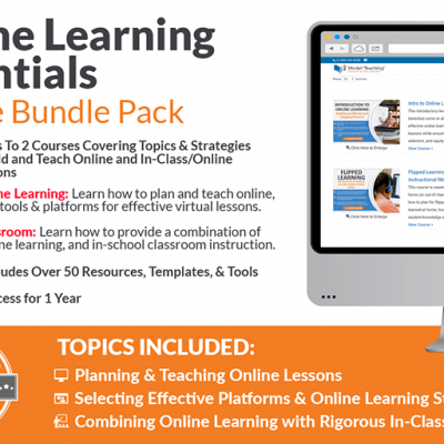 Online Learning Essentials Course Bundle Icon-min