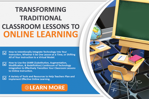 Transforming Classroom to Online-Icon